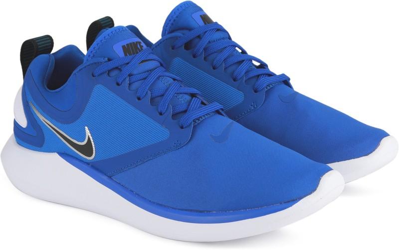 Nike LUNARSOLO Running Shoes For Men(Blue)