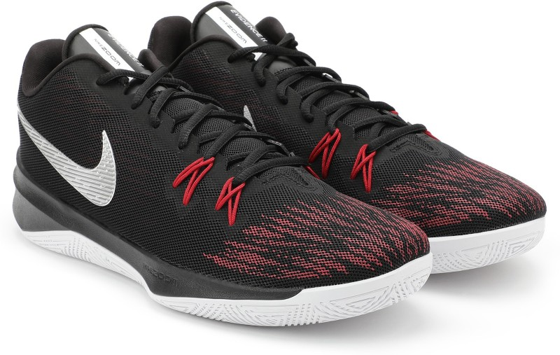 Nike ZOOM EVIDENCE II Basketball Shoes For Men(Red, Black)