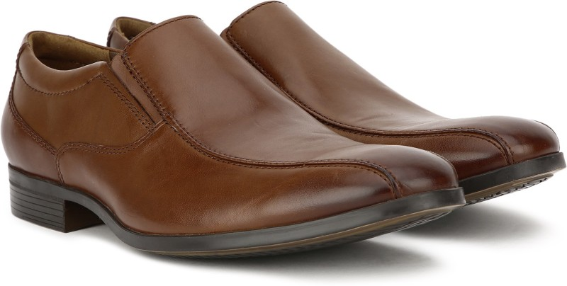 Clarks Conwell Step Slip On For Men(Tan)