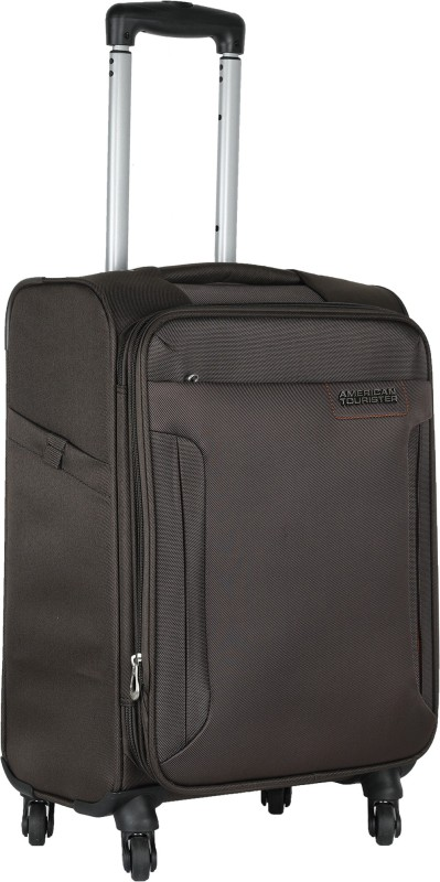 American Tourister Troy Expandable Cabin Luggage - 22 inch(Brown)