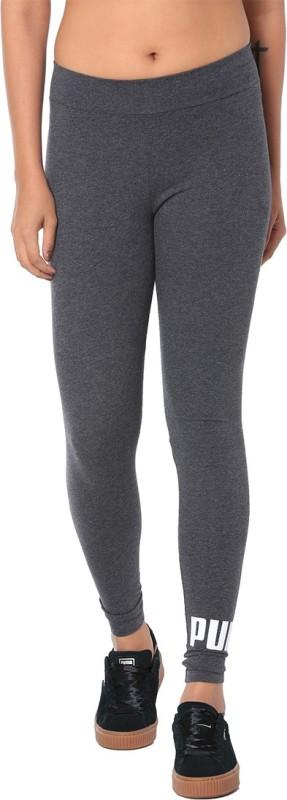 Puma Printed Women Grey Tights