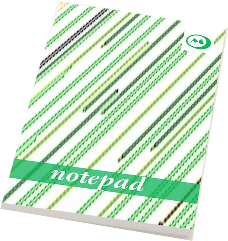 makimus designs A5 Note Pad(Designer Notepad, Green, White, Pack of 4)