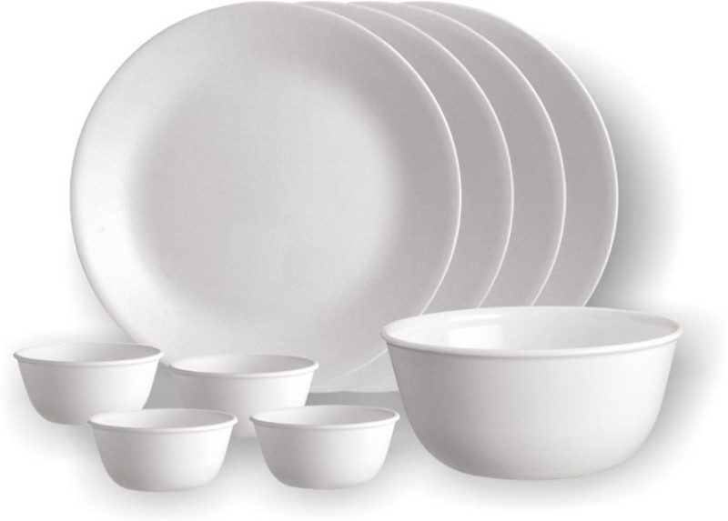 corelle Gift Set- LIlac Blush Pack of 9 Dinner Set(Glass)