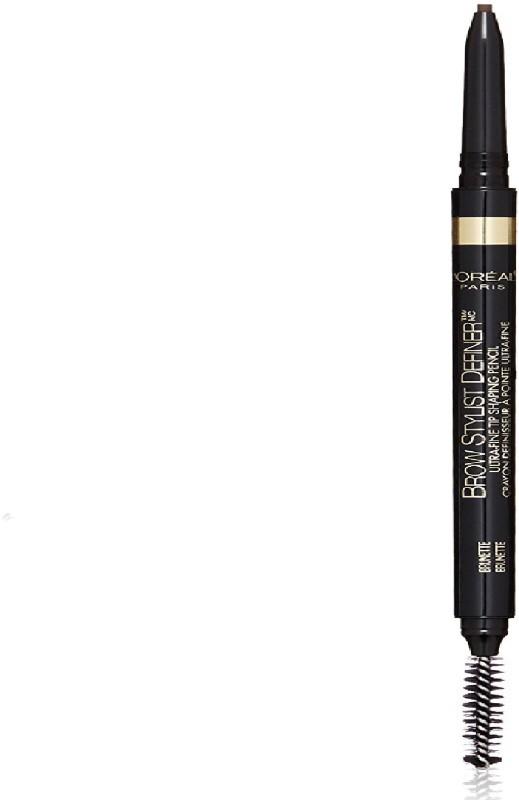 L'Oreal Paris Cosmetics Stylist Definer Brow Liner, Brunette, 0.003 Ounce(BLACK)