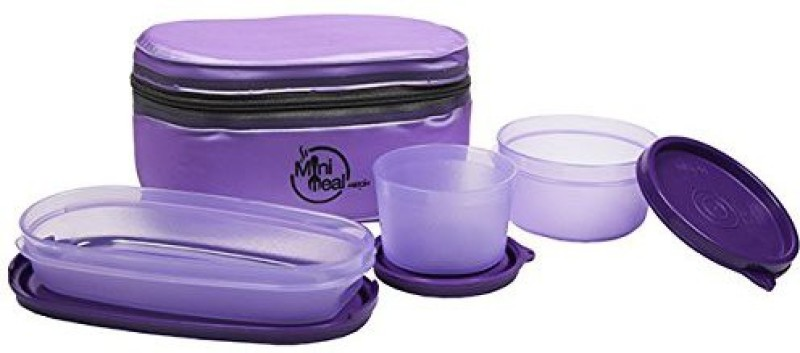 Milton kb134 3 Containers Lunch Box(700 ml)