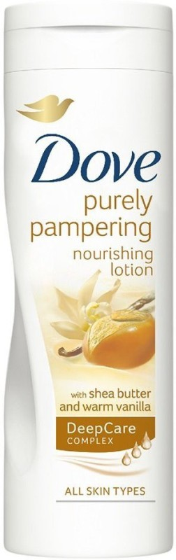 Dove Purely Pampering Nourishing Lotion With Shea Butter & Warm Vanilla, 400ml(400 ml)