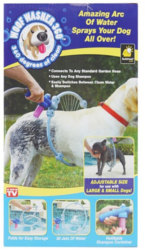 Zenon 360 DEGREE Dog Puppy Washer Pet Spa Kit