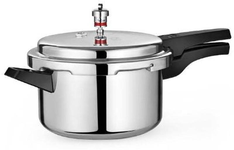 Active Plus 5 Ltrs Aluminium Pressure Cooker 5 Pressure Cooker(Aluminium)