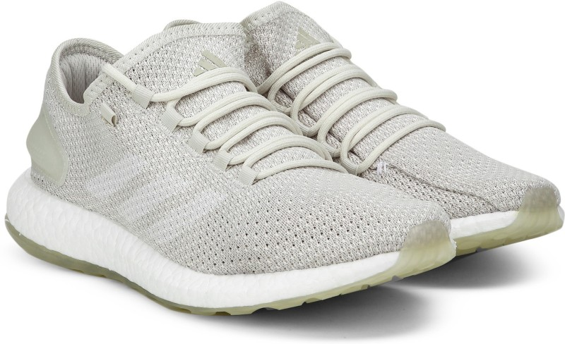 ADIDAS PUREBOOST CLIMA Running Shoes For Men(Beige)