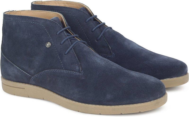 Numero Uno TMSECD60 Chukka Boots For Men(Blue)