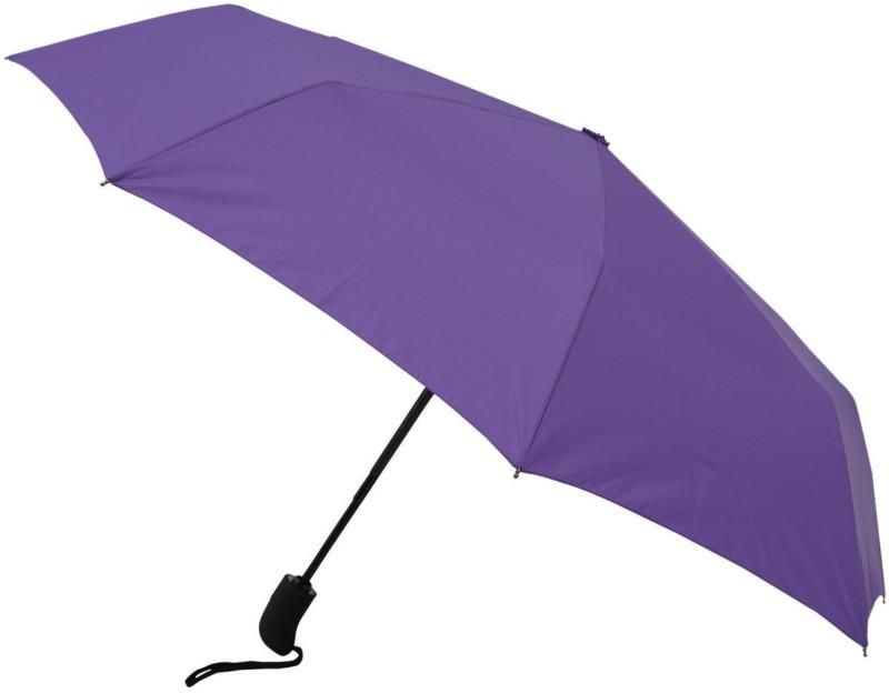 care 4 Automatic Travel Umbrella - Purple Umbrella(Purple)