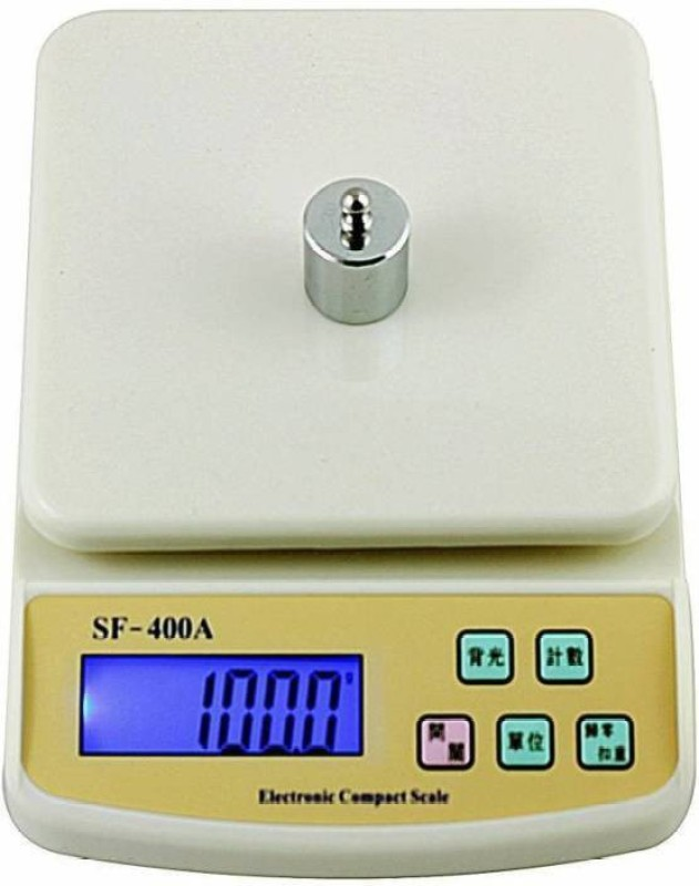 stepgear fine quality 10 kg vegitable weight scale Weighing Scale(white)