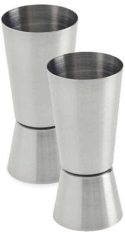 upalabdh 2 - Piece Bar Set(Stainless Steel)