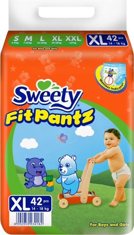 Sweety Fit Pantz SFP1000-Super Jumbo PK-XL-Count: 42 - XL(42 Pieces)