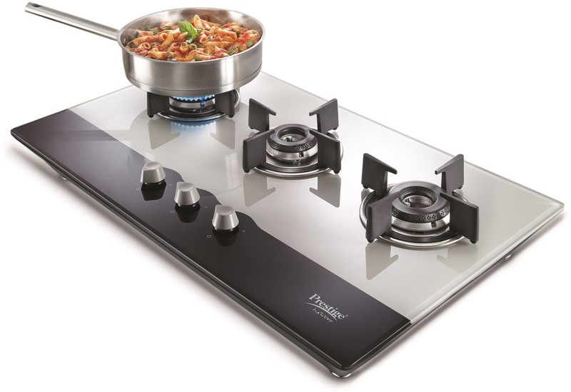 prestige Hobtop 3 Burner (PHT03 40551) Stainless Steel Automatic Gas Stove(3 Burners)