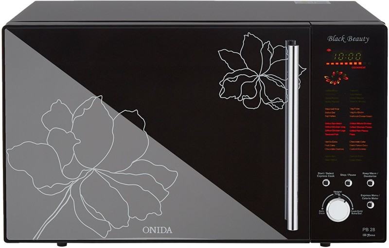 Onida 28 L Convection Barbeque Microwave Oven(MO28BJS17B, Black Beauty)