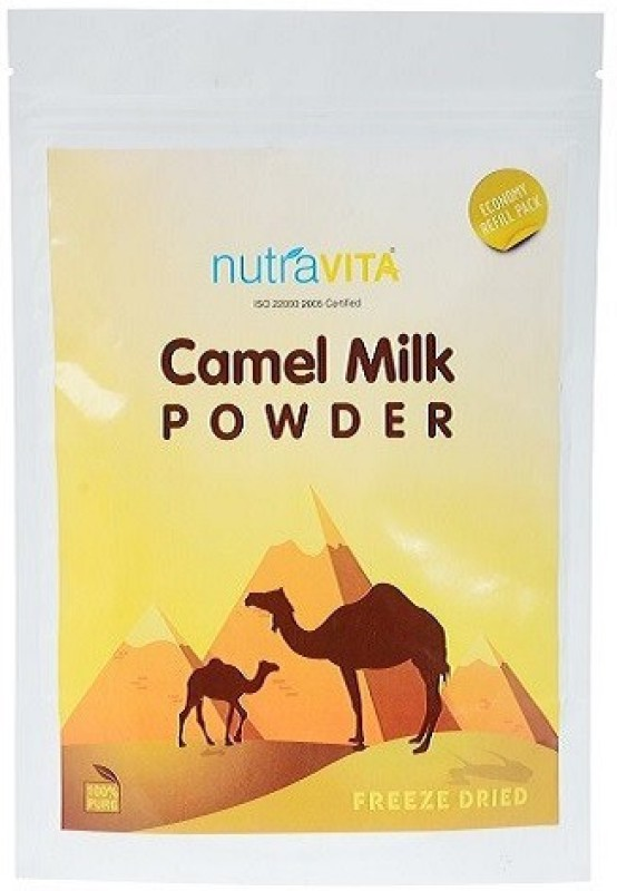 Nutra Vita Freeze Dried 200 Gram Camel Milk Refill Pack (Economy) Milk Powder(200 g)