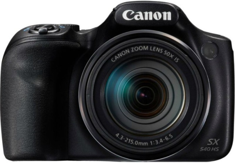 Canon Powershot SX540 HS Point and Shoot Camera(20.3 MP, 50x Optical Zoom, 50x Zoom Digital Zoom, Black)