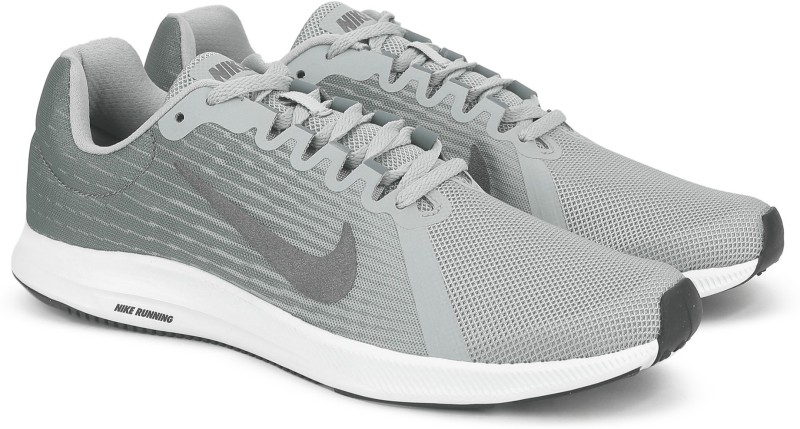 Nike NIKE DOWNSHIFTER 8 Running Shoes For Men(Grey)