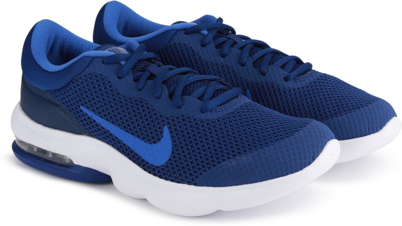 Nike NIKE AIR MAX ADVANTAGE Running Shoes For Men(Blue, Navy)