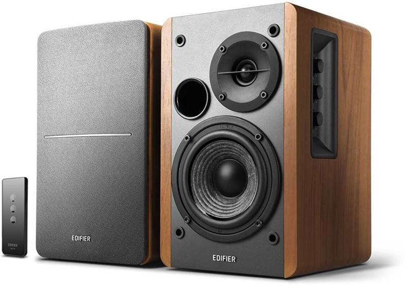 Edifier R 1280 DB 42 W Bluetooth Home Theatre(Brown, Black, 2.0 Channel)