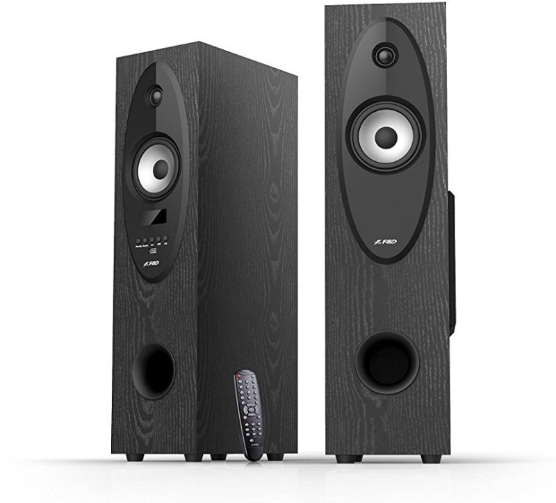 F&D T-30X 2.0 Floor Standing 56 W Bluetooth Tower Speaker(Black, 2.0 Channel)