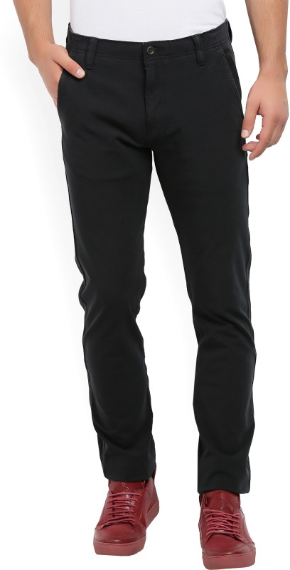 Levis Regular Fit Men Black Trousers