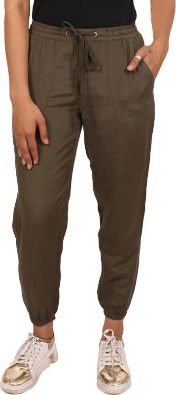 GOODWILL Regular Fit Women Green Trousers