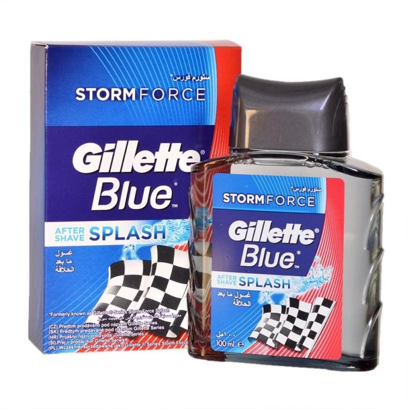 Gillette Blue Storm Force After Shave Splash(100 ml)