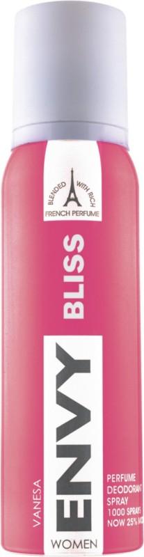 Envy Bliss Deodorant Spray - For Women(120 ml)