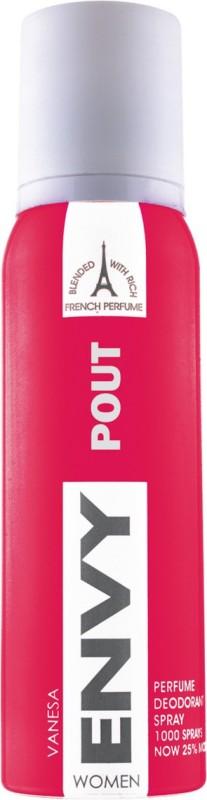 Envy Pout Deodorant Spray - For Women(120 ml)