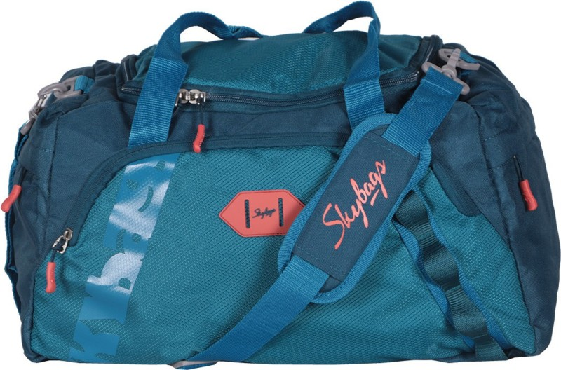 Skybags Xenon Duffle Airbag 45cm (Teal) Gym Bag(Blue)