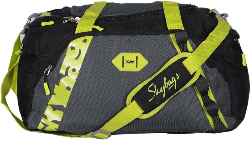 Skybags Xenon Duffle Bag 45cm (Black) Travel Duffel Bag(Black)
