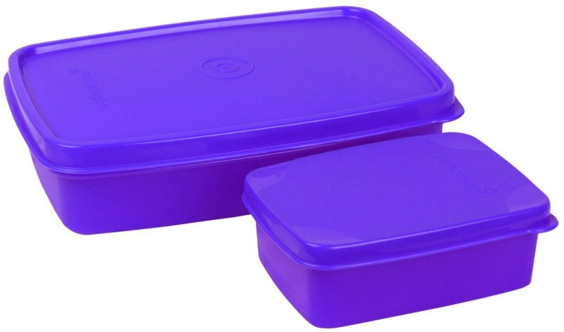 Cello MAX FRESH Compact (Purple) 2 Containers Lunch Box(250 ml)