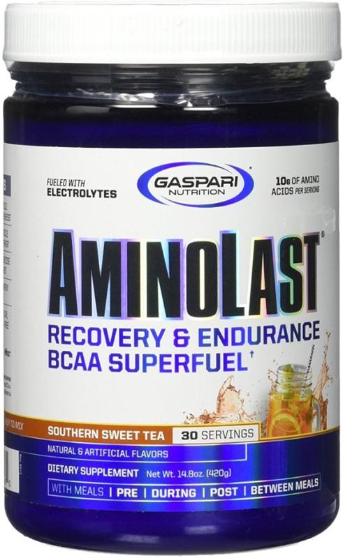 Gaspari Nutrition AminoLast (Southern Sweet Tea) EAA (Essential Amino Acids)(420 g, Southern Sweet Tea)