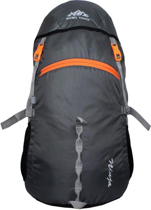 Mount Track 40 Ltrs Rucksack, Hiking & Trekking Backpack Rucksack - 40(Grey)