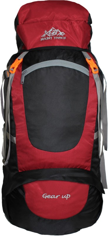 Mount Track Gear up, Rucksack, Hiking & Trekking Backpack Rucksack - 75(Maroon)