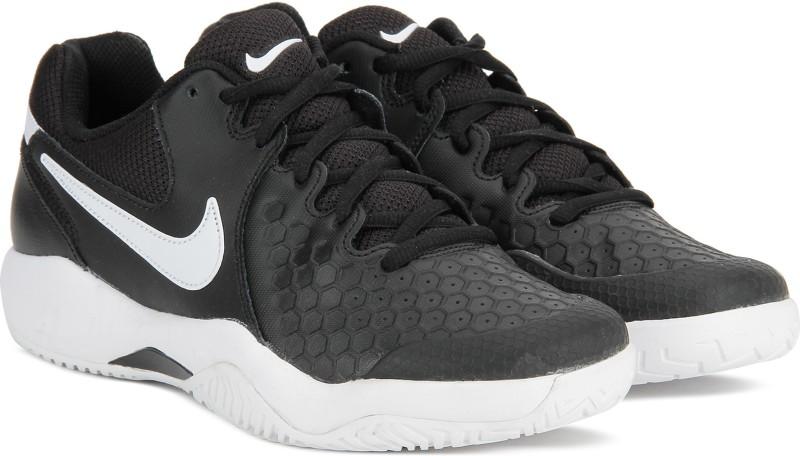 Nike AIR ZOOM RESISTANCE Tennis Shoes For Men(Black)