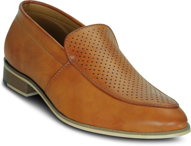 Kielz Tan-Slip-On-Mens-Shoes Slip On For Men(Tan)