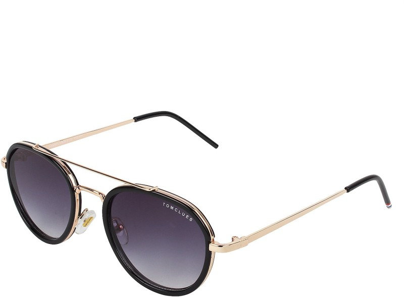 TOMCLUES Oval, Round Sunglasses(For Boys & Girls) image