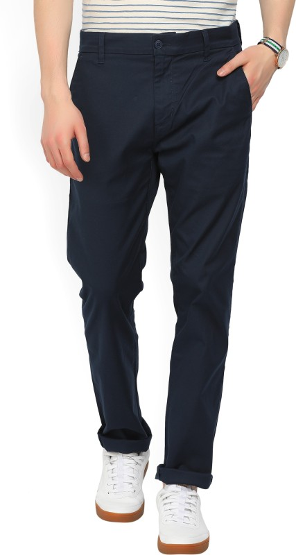 Levis Regular Fit Mens Dark Blue Trousers