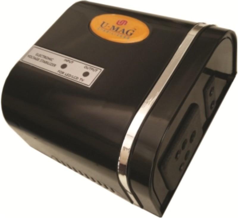 u-mag Ultra Mini Voltage Stabilizer(Black)