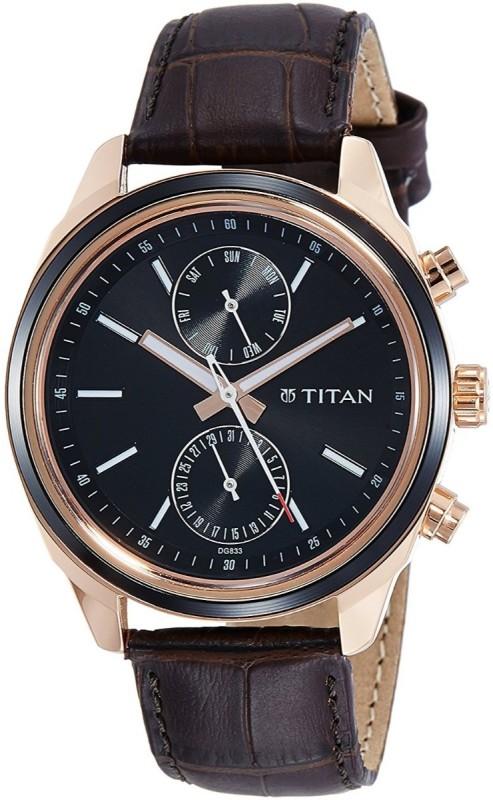 Titan 1733KL03 Men's Watch image