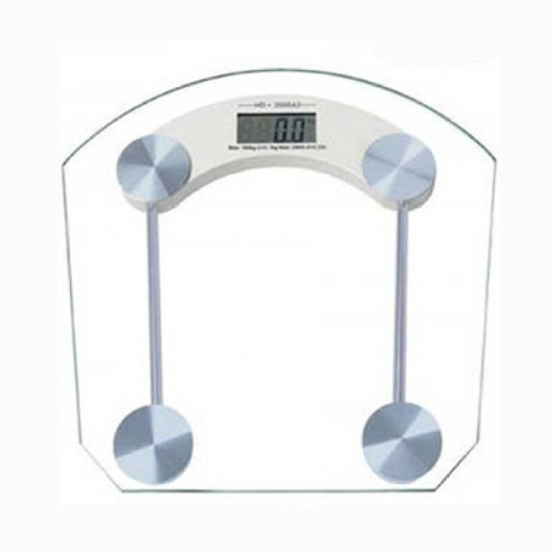 Mezire ®Good quality Weighing Scale (Silver, White) Weighing Scale(Transparent)