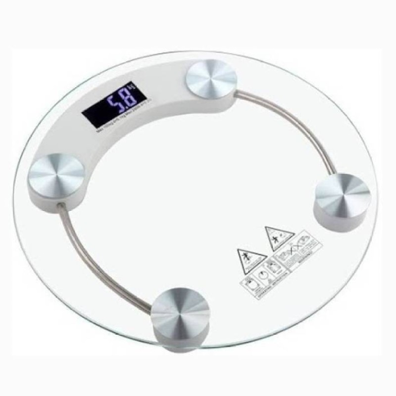 Mezire ®Digital Thick Glass Measurement Machine Weighing Scale (Clear)  Weighing Scale(Transparent)