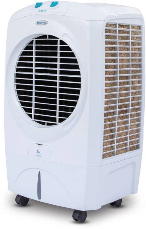 symphony 70 L Room/Personal Air Cooler(White, siesta 70 ltr)