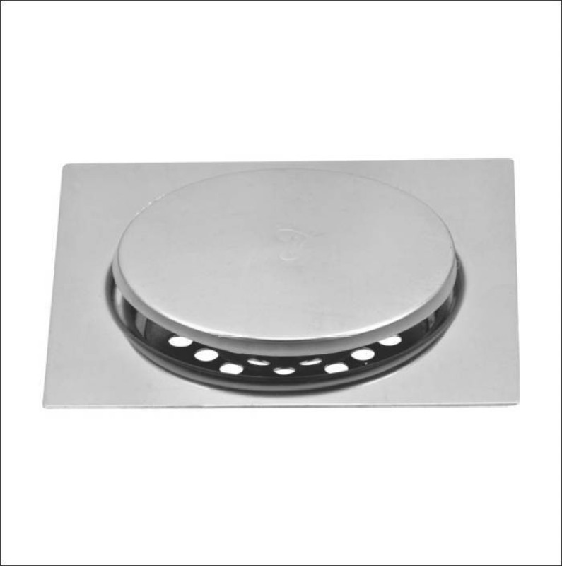PESCA Floor Stainless Steel, Brass Pop-Up Strainer(15 cm Set of 1)