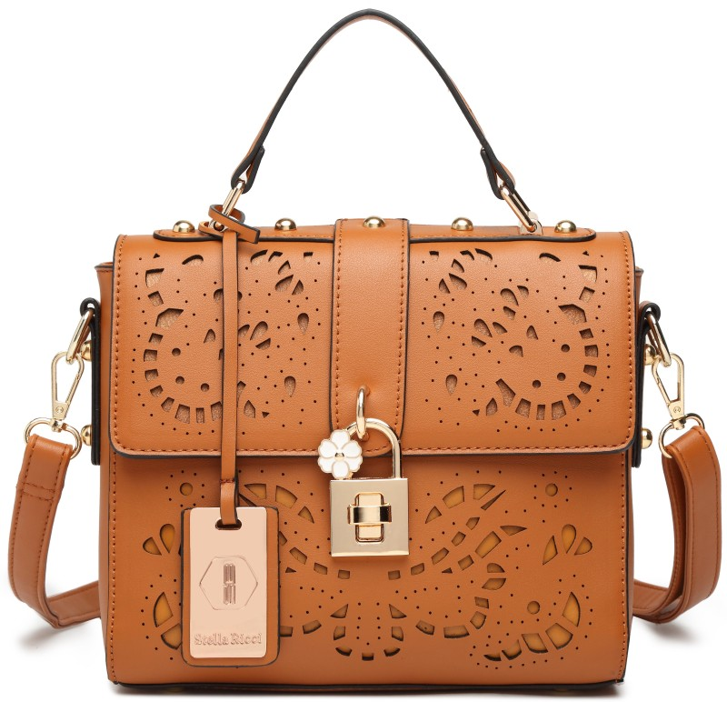 Stella Ricci Hand-held Bag(Tan)