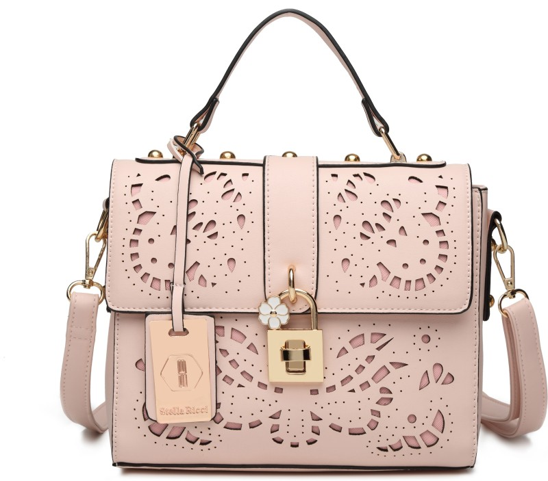 Stella Ricci Hand-held Bag(Pink)