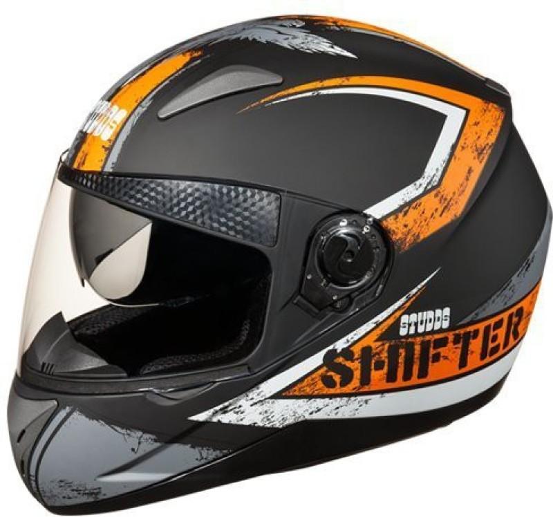 Studds Shifter D1,N10 Motorbike Helmet(Black)